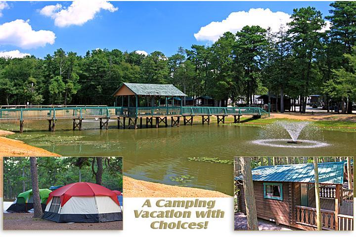 Pet Friendly Wading Pines Camping Resort