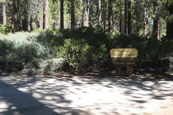 Pet Friendly Boulder Group Camp Campground