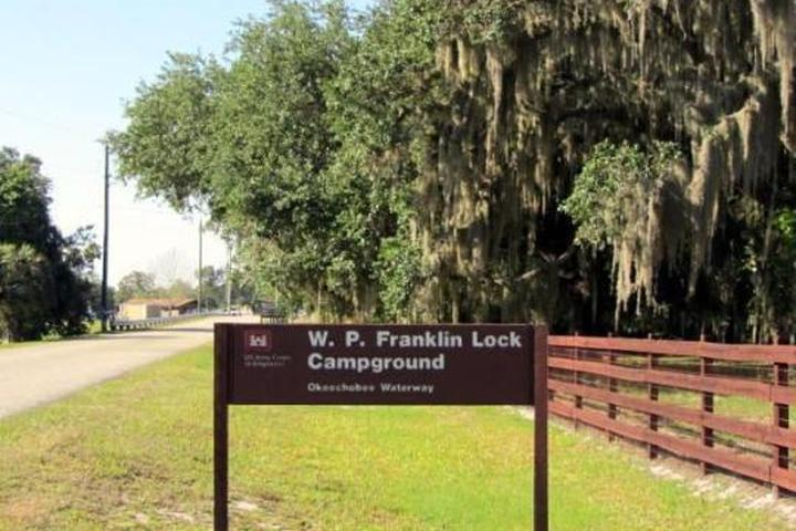 Pet Friendly W.P. Franklin Lock Campground