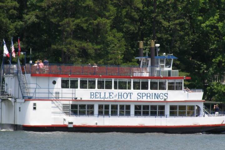 Pet Friendly Belle of Hot Springs Riverboat