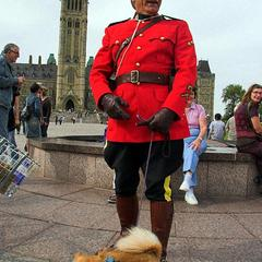 Mountie with Fido