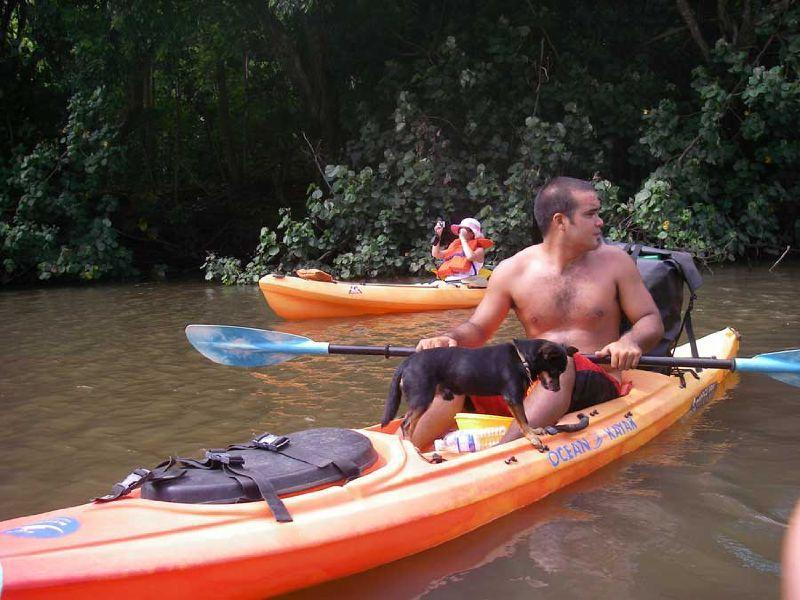 Kayaking with Fido