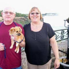 Jake at Niagara Falls