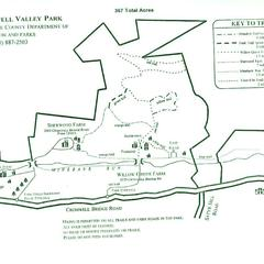 Cromwell Valley Park Trail Map