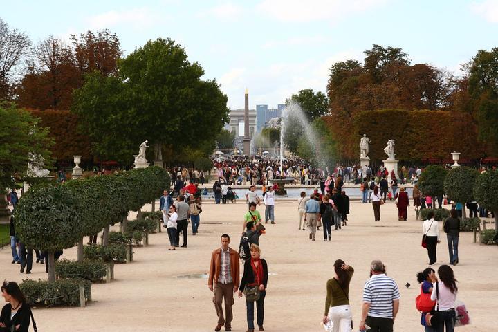 Pet Friendly Tuileries Gardens