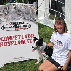 Atlanta's Dog Agility Trainer Ginsey St. Croix and Star at the PIDC