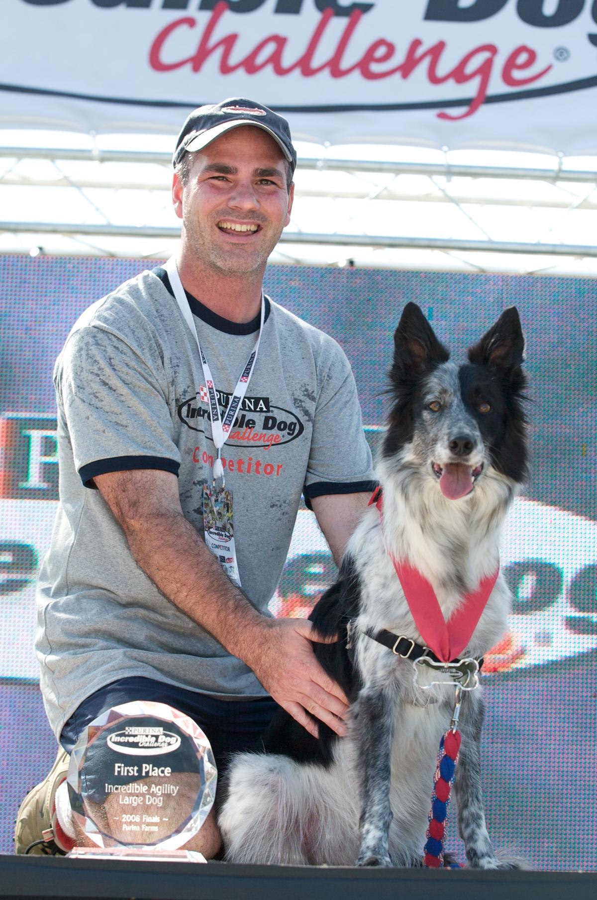 Atlanta's Don St. Croix and Razzle win The Purina Incredible Dog Challenge 2008