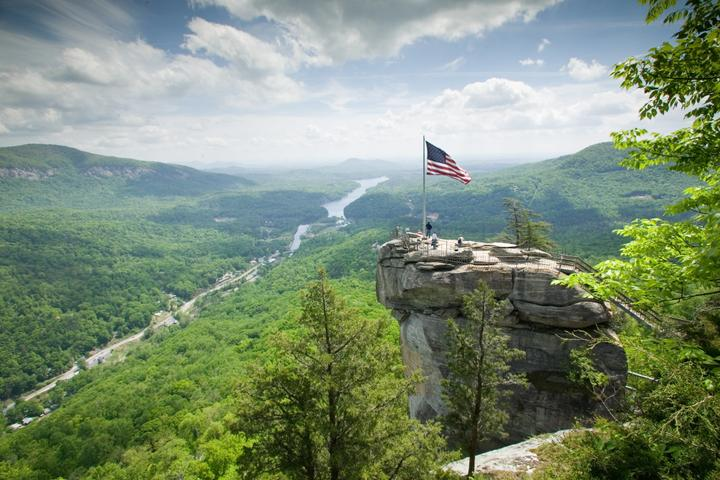Pet Friendly Chimney Rock State Park