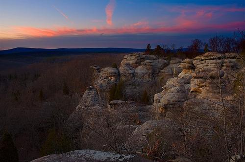Shawnee national forest Directions to garden of the gods illinois