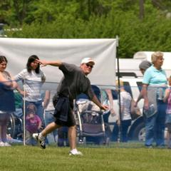 Disc Dog Field has great viewing from three sides!