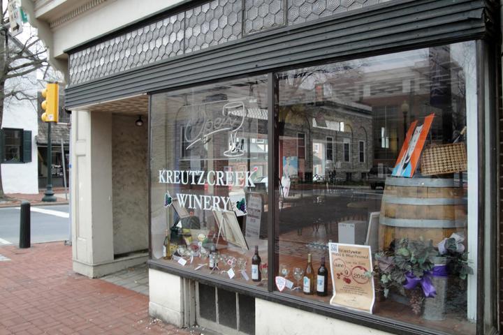 Pet Friendly Kreutz Creek Winery