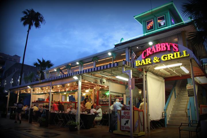 Pet Friendly Crabby's Bar & Grill