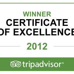 Winner on Trip Advisor