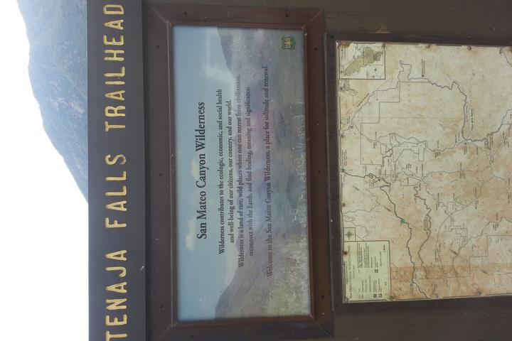 Pet Friendly Tenaja Falls Trail