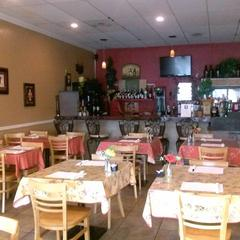 Inside View of The Bistro