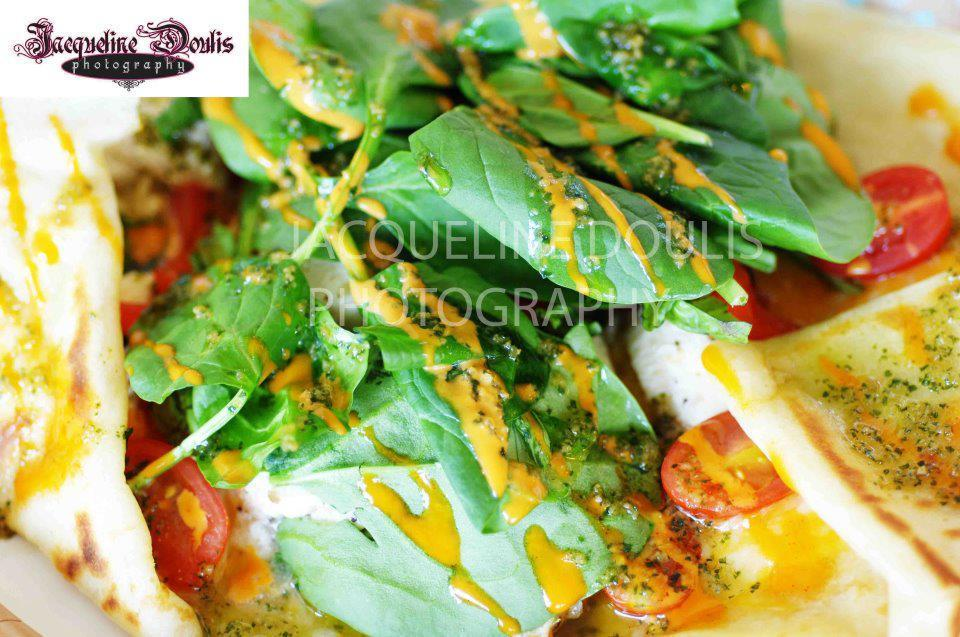 Pesto Chicken Crepe