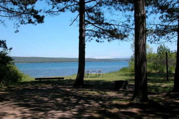 Pet Friendly Bay Furnace Campground