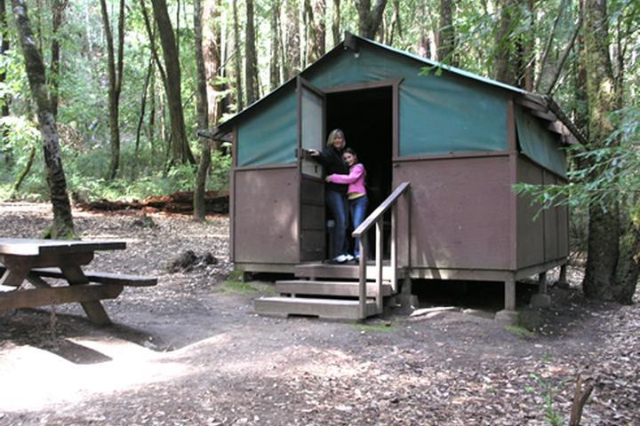 Pet Friendly Big Basin Tent Cabins