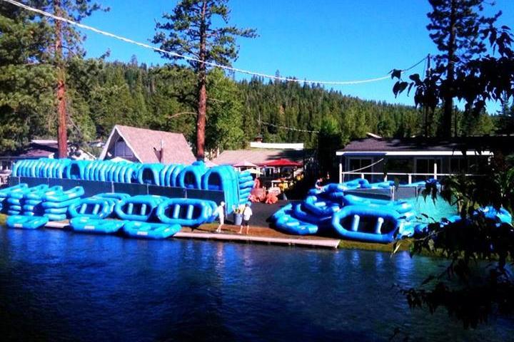 Pet Friendly Truckee River Rafting
