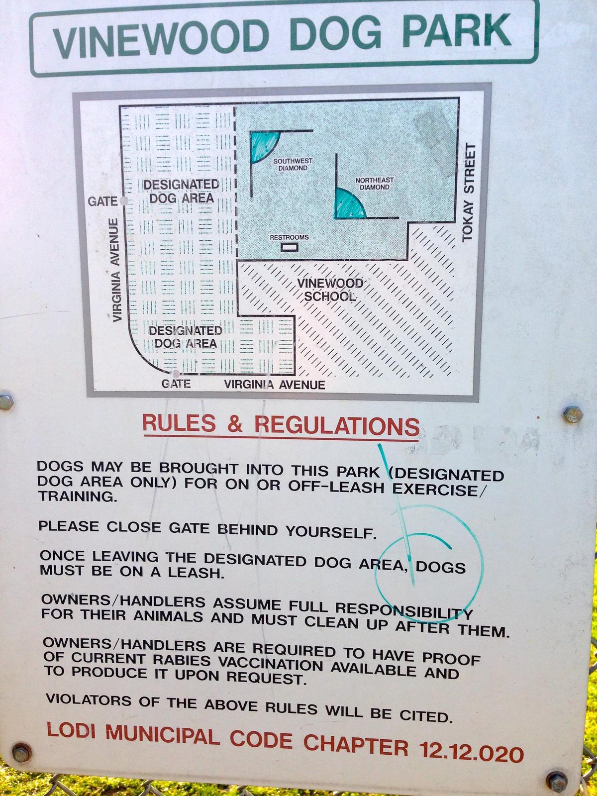 Vinewood Dog Park Rules