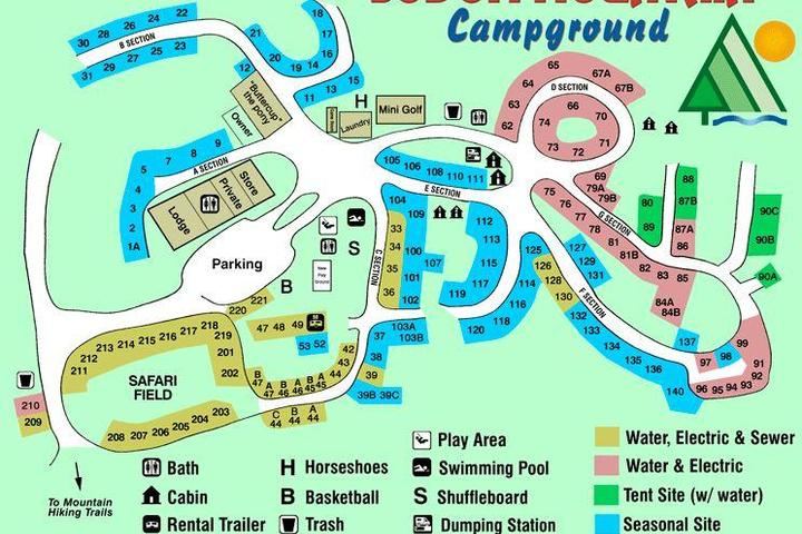 Pet Friendly Sodom Mountain Campground