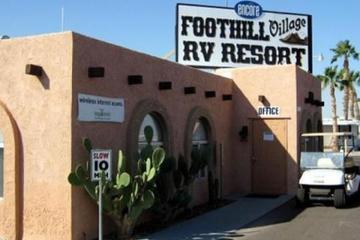 Pet Friendly Foothill Village RV Resort