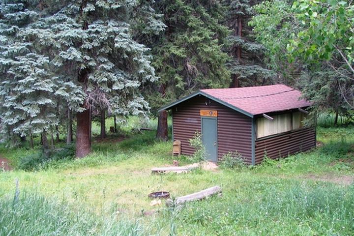 Pet Friendly Conifer Community Park at Beaver Ranch Cabins
