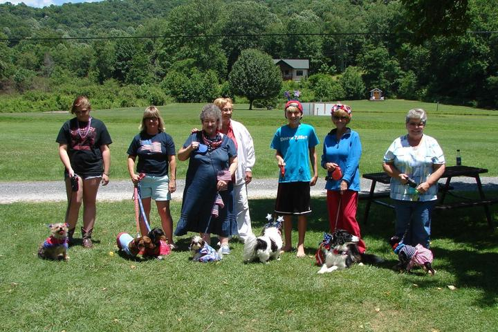 Pet Friendly Buck Hill Campground