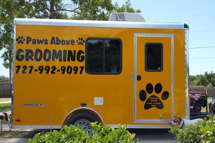 Pet Friendly Paws Above Mobile Pet Grooming