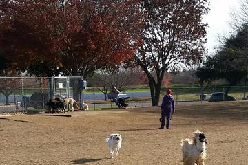 Pet Friendly Fort Woof Dog Park at Gateway Park