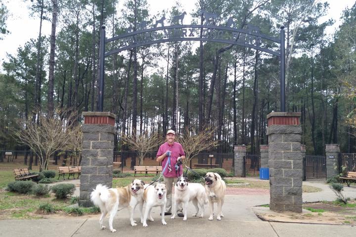 Pet Friendly Julien Marx Dog Park at Medal of Honor Park