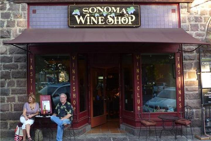 Pet Friendly Sonoma Wine Shop