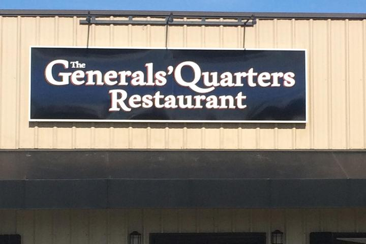 Pet Friendly The Generals' Quarters Restaurant