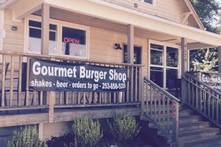 Pet Friendly Gourmet Burger Shop