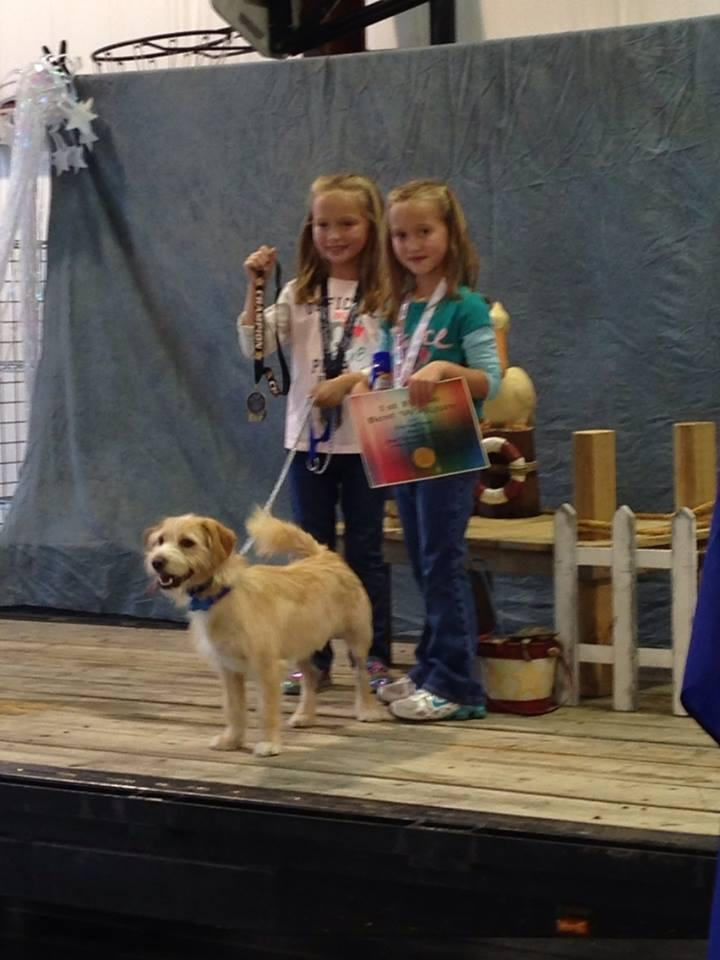 Fun at the dog pageant