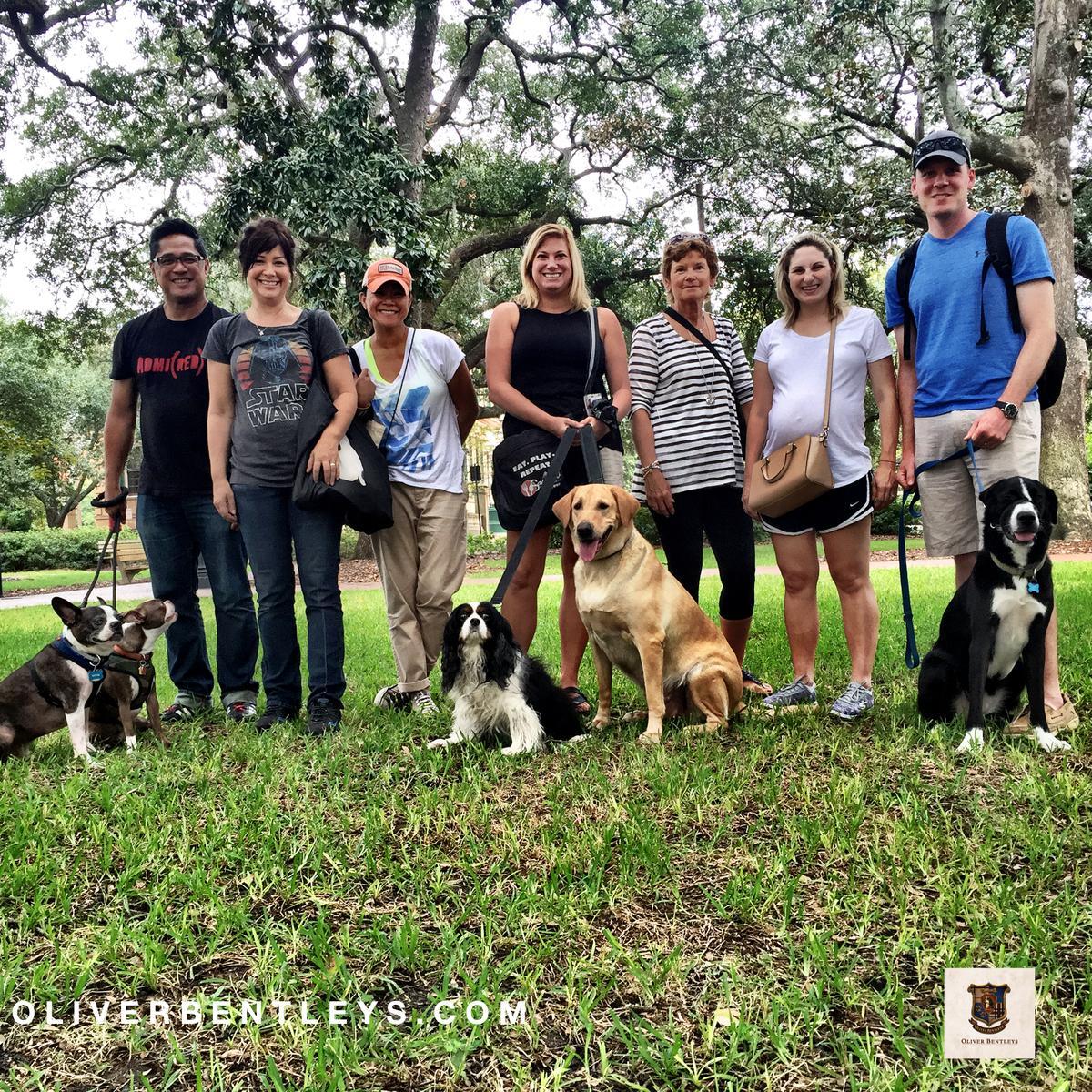 Oliver Bentleys Historic Dog Walk Tour- Savannah - Typical Group Tour