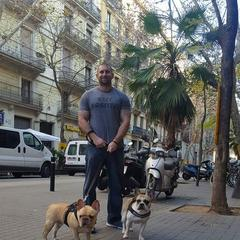 evening stroll through Barcelona