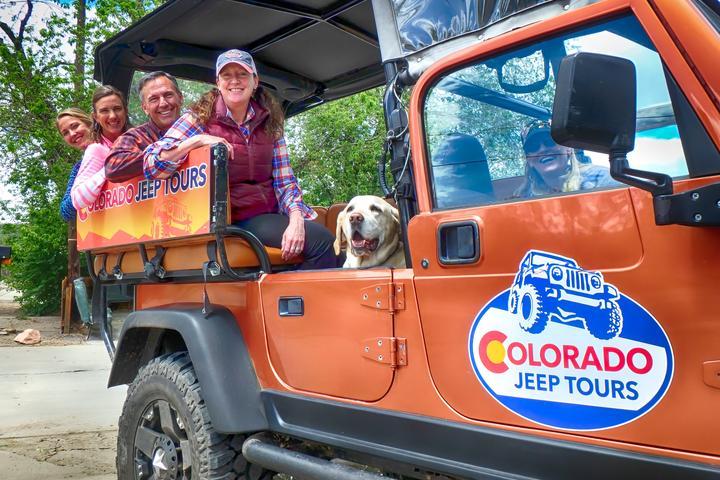 Pet Friendly Colorado Jeep Tours