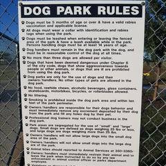 murfin animal care campus dog park