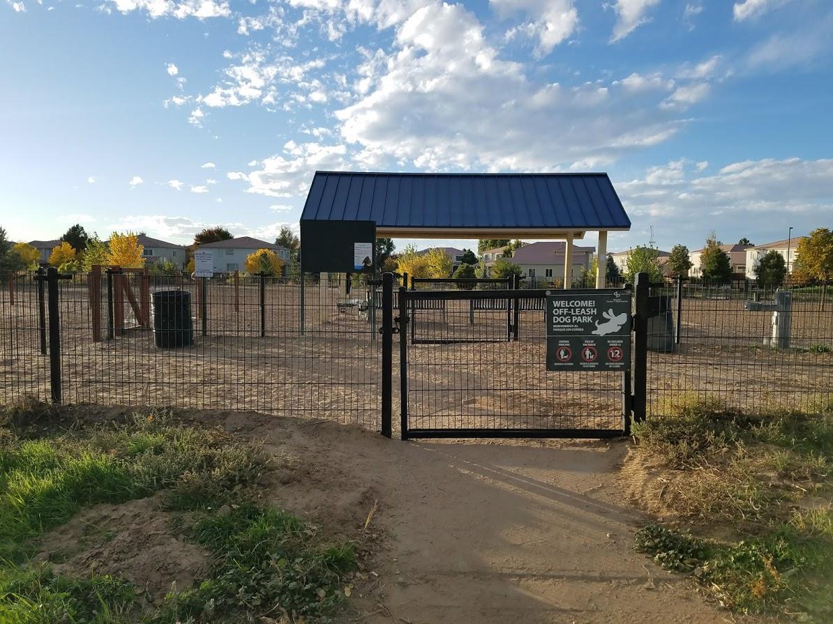 Dog Park Entrance