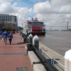 River walkway