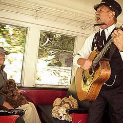 Dogs Ride the Skunk Train