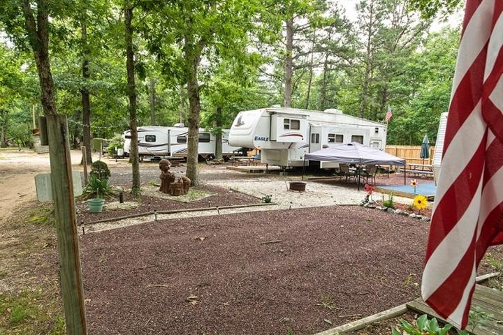 Pet Friendly Mays Landing Campground