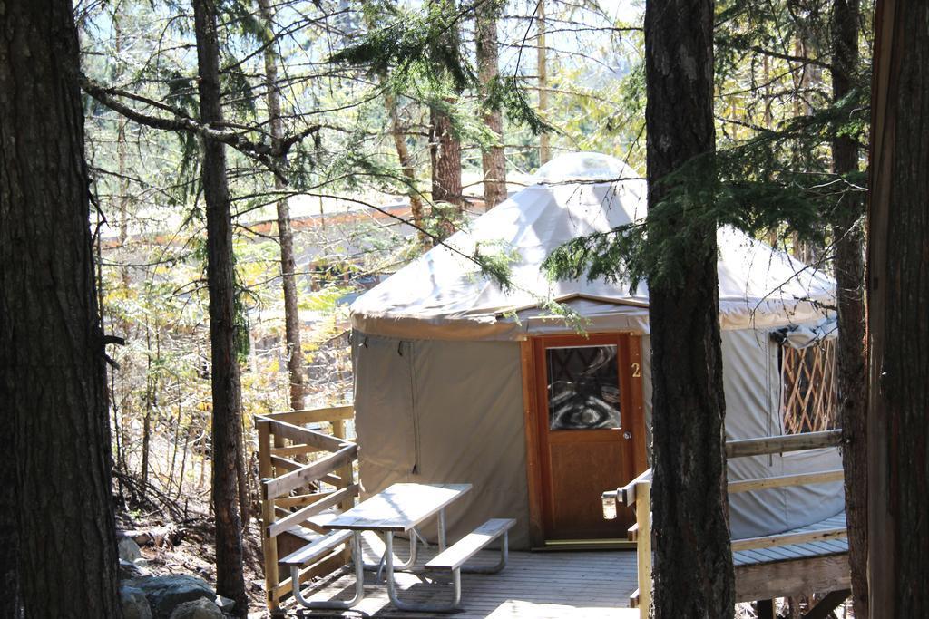Yurts at Riverside Resort