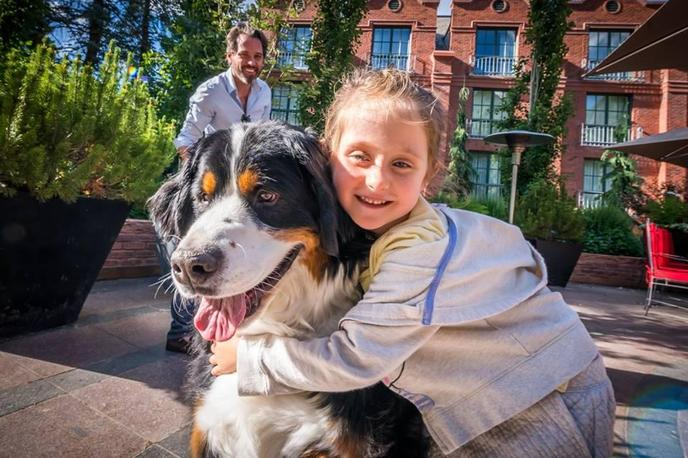 The St. Regis Aspen is a dog-friendly resort with a special furry ambassador.