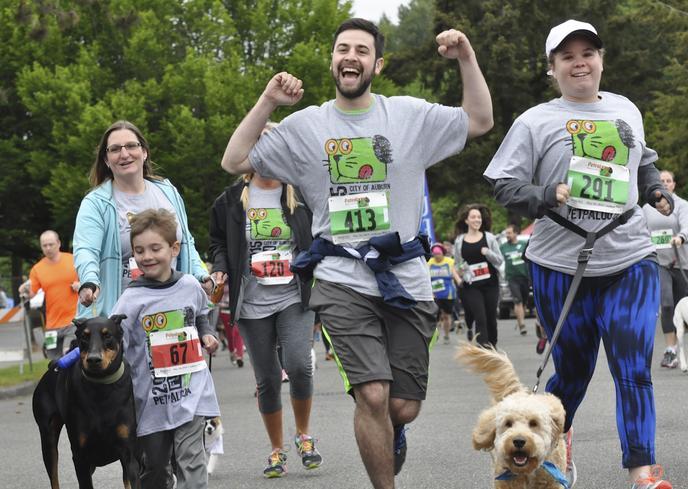 3k Dog Run at PetPalooza in Auburn, WA