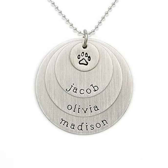 This necklace is a thoughtful Mother's Day gift for the dog mom in your life.