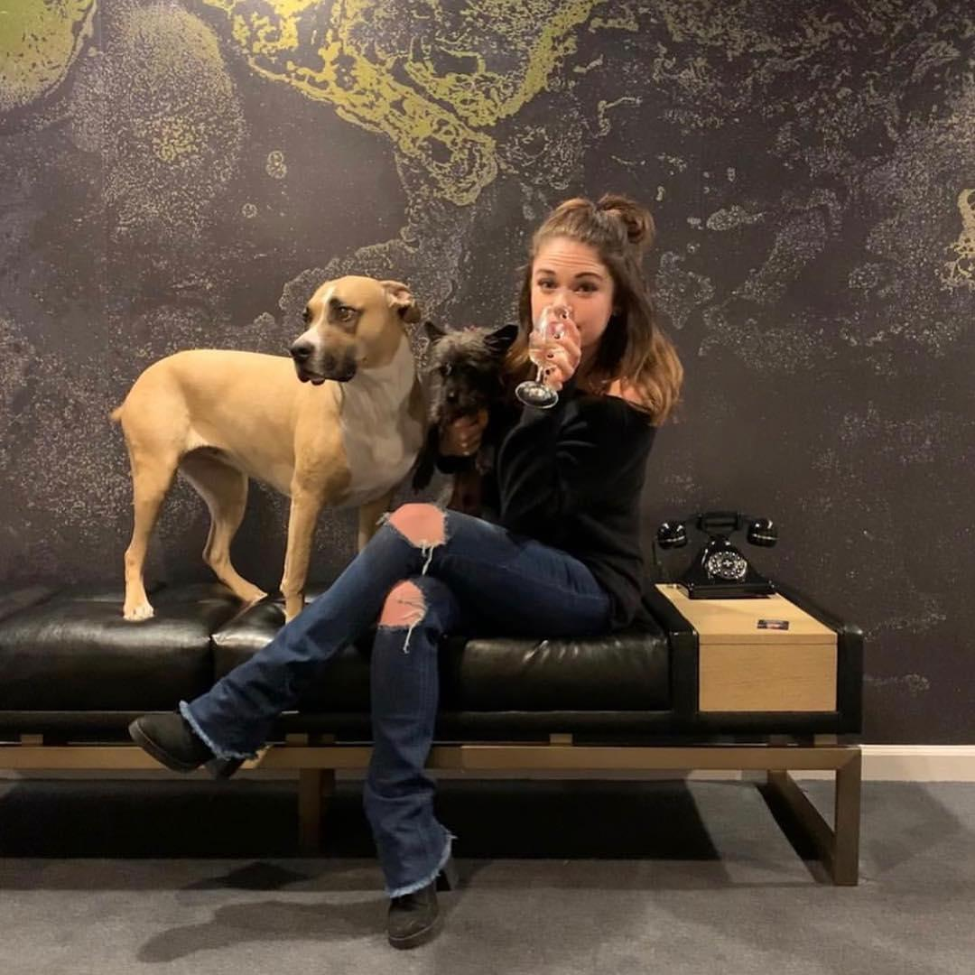 Dogs will have a comfortable stay with you at the Hotel Monaco Denver.