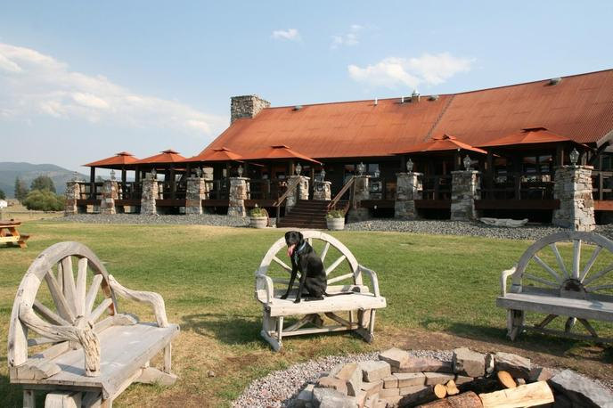 The Resort at Paws Up is a pet-friendly all-inclusive hotel in Montana.