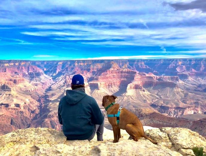 Grand Canyon National Park has many pet-friendly trails.